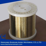 Soft EDM Brass Wire 0.1mm For EDM Wire Cut Machine