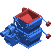 Custom Double Dump Valve for Cement Plant