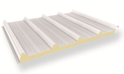 Roof panel (polyurethane foam insulation PIR/PUR)